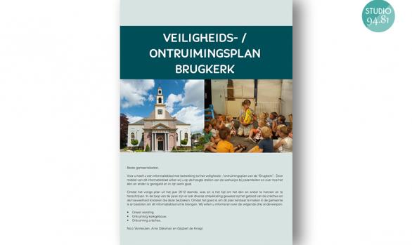 Vluchtplan / Brugkerk Waddinxveen