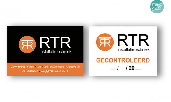 Stickers / RTR Installatietechniek